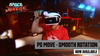 SPACE JUNKIES - PS Move and Smooth rotation are now available on Playstation VR