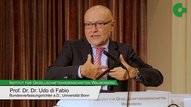Udo di Fabio - Europa für alle? Aspekte der neuen Völkerwanderung