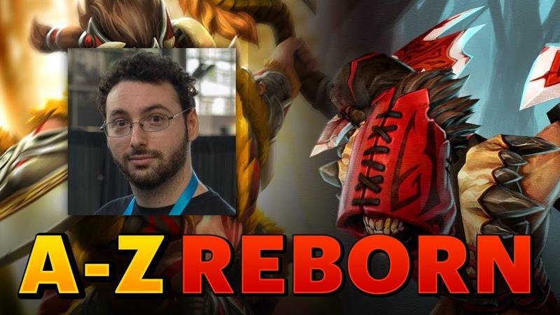 Dota 2 - A-Z Challenge Reborn - Beastmaster Bloodseeker (SUNSfan POV)