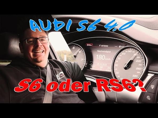 Audi S6 4 0TFSI Chiptuning und wie mache ich daraus ohne viel Aufwand einen RS6