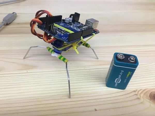 8000 - Робот жук паук на Ардуино