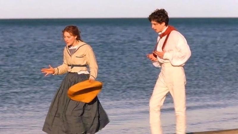 Movie clip Little Women 2019 The Beach Scene full