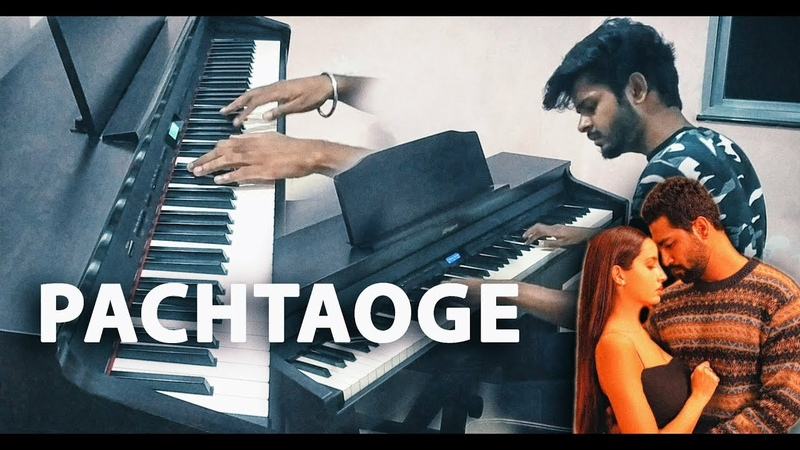 Pachtaoge Piano Cover Arijit Singh Vicky Kaushal