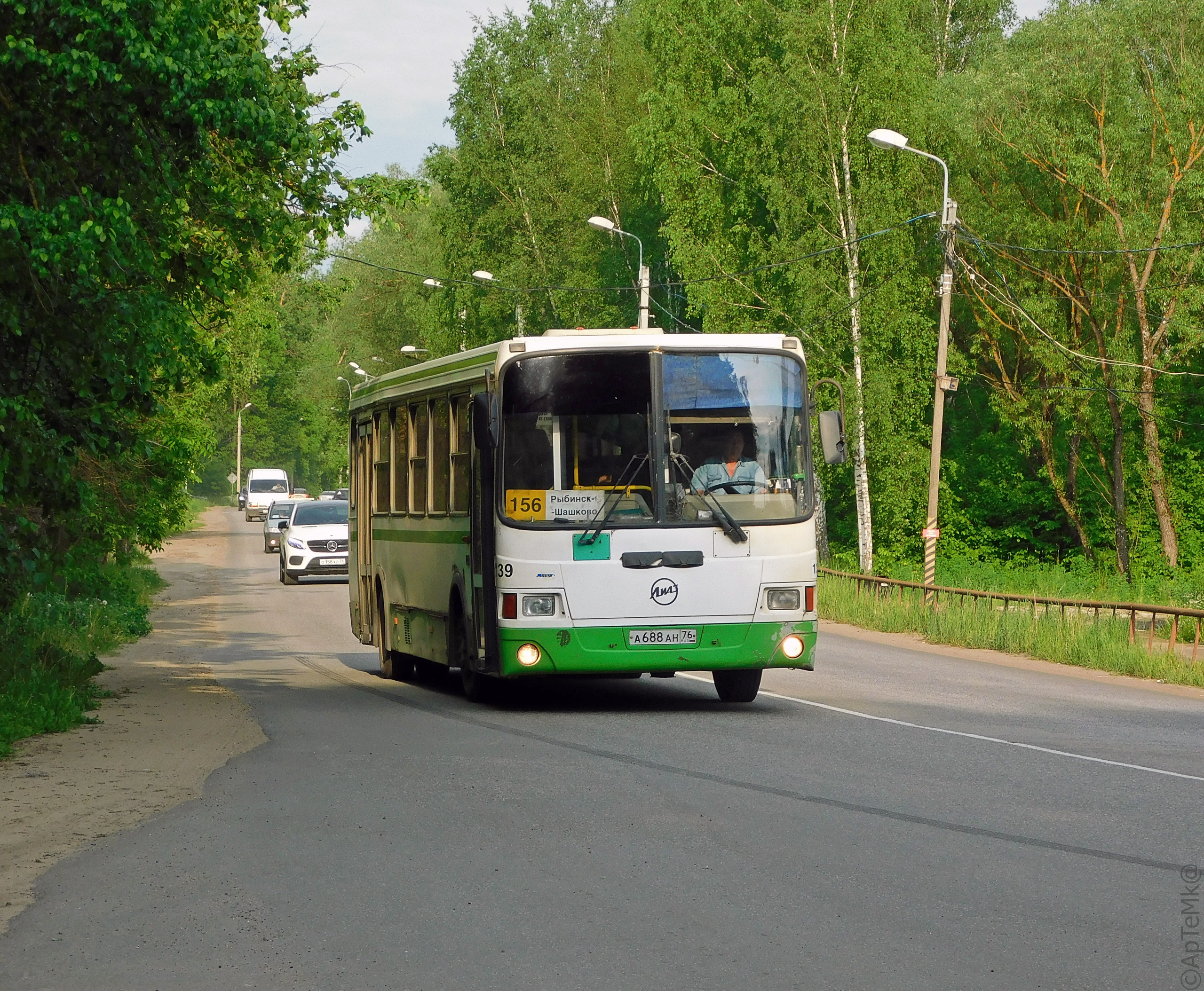 Автобус №156