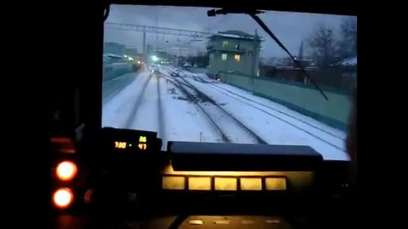 ЧС2 372 из Москвы Сортировочной на Казанский вокзал