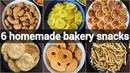 6 homemade bakery snacks for kids crispy evening tea time snacks jar snacks