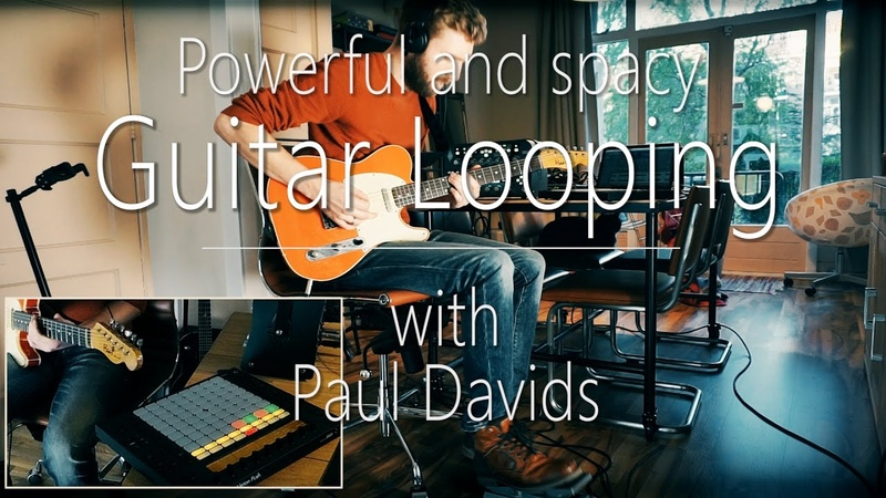 Guitar looping Live Performance Beautiful and Powerful
