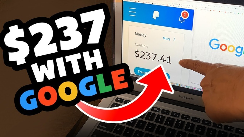 Earn $237 IN MINUTES With Google *WEIRD TRICK* Automated PayPal Money Online