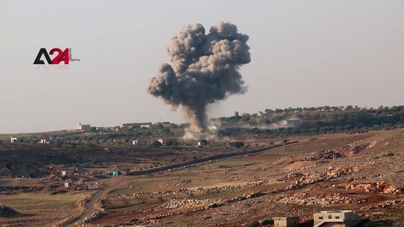 Syria|Russia breaks the truce and bombards villages in southern Idlib countryside (Exclusive Shots)