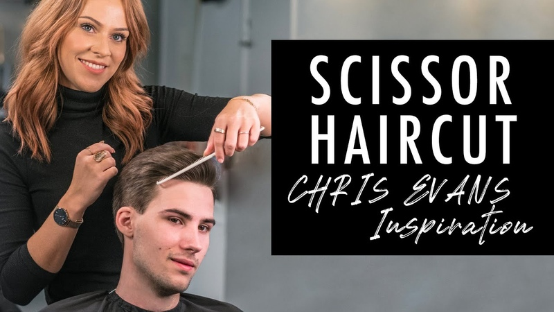 Scissor Haircut Medium Length Hairstyle