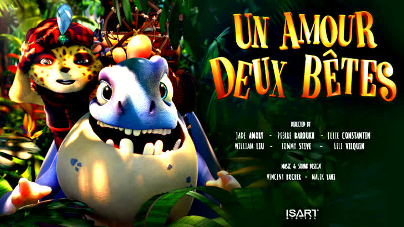CGI Animated Short Film One Love Two Beasts Un Amour Deux Bêtes by ISART DIGITAL ¦ CGMeetup