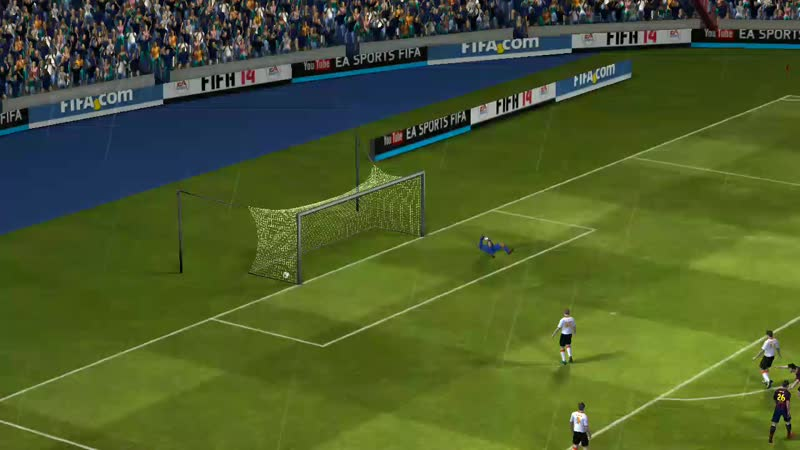 Барселона - Валенсия гол Фабрегаса