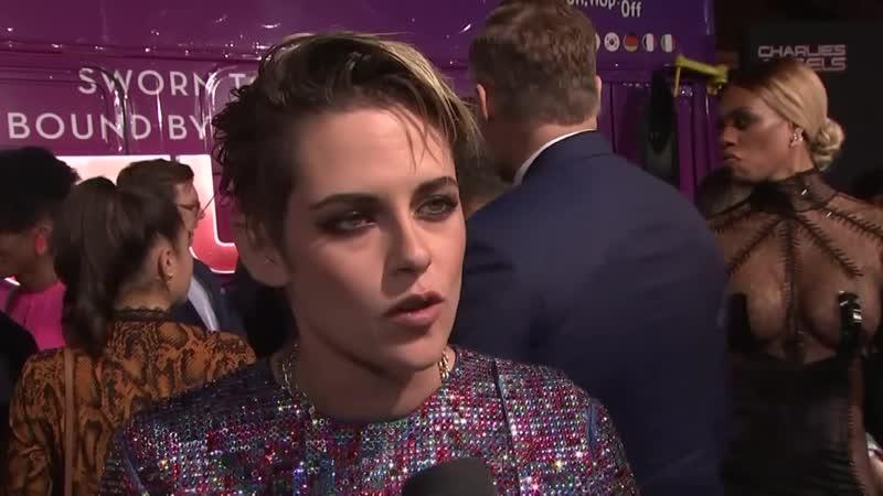Kristen Stewart Hopes To Inspire Girls at Premiere of Charlie s Angels.