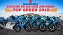 Suzuki GSX R150 R600 R750 R1000 R1000R 1300R Hayabusa Top Speed 2019