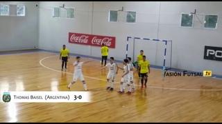 Pasión Futsal TV: Argentina 4-Ecuador 0 (Amistoso Internacional-Juego 1) FUTSAL AFA