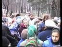 Встреча Казанской иконы и крестный ход. 1989 год.