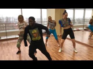 Afrodance. мастер класс с виктором чубби