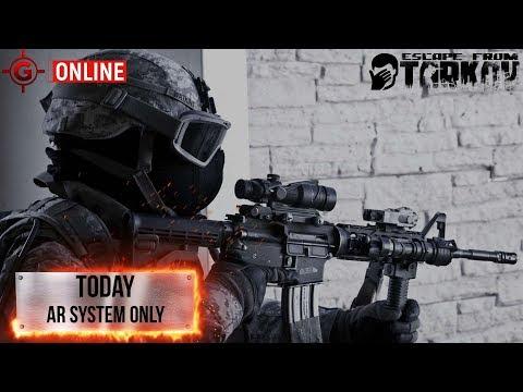 Стрим Escape from Tarkov - AR System ONLY.