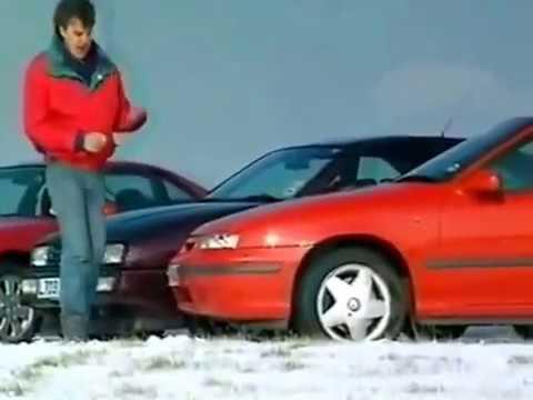 Топ Гир На Русском Ford Probe vs VW Corrado, Honda Prelude, Vauxhall Calibra