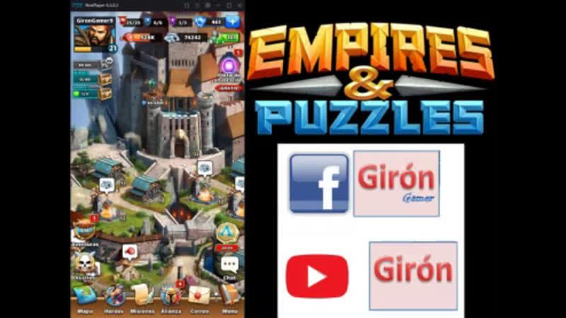 Invocando 2 Heroes de Atlantis y 2 legendarios o épicos - Empires Puzzles