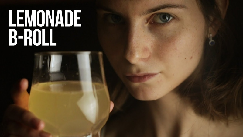 Homemade B ROLL lemonade making video