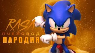 Песня Клип про СОНИКА RASA - Пчеловод / ПАРОДИЯ SONIC