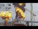 STOLT GROENLAND and BOW DALIAN tanker explosion, Ulsan port to ODJFELL