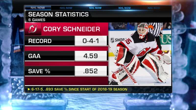 NHL Tonight Schneider on Waivers Nov 18 2019