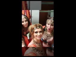 12 Russian Tribal Festival, gala concert, backstage
