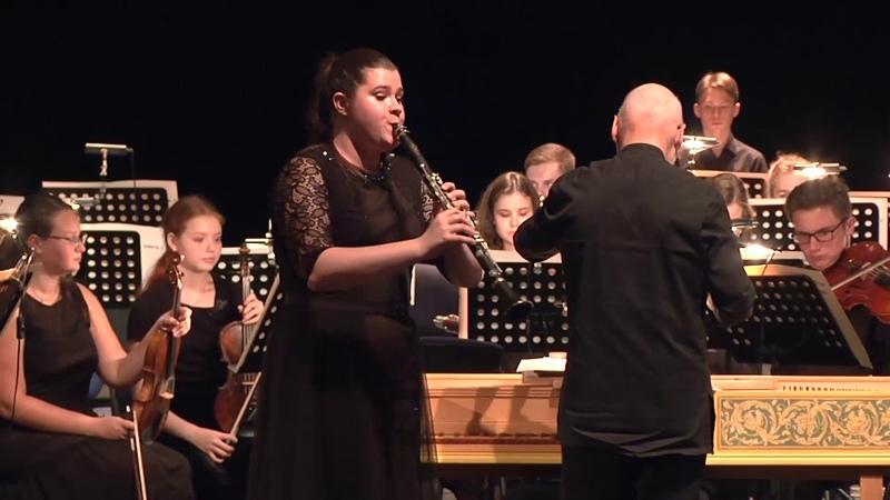 К. Вебер. Концертино для кларнета с оркестром Es-dur, op. 26