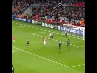 That giroud link-up play that ramsey pass that ozil finish  so much to love about