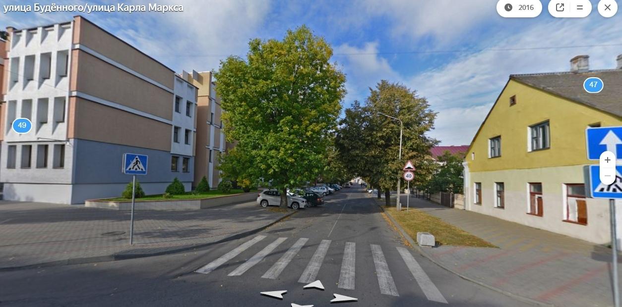 На участке улицы Буденного в Бресте изменят направление движения на обратное