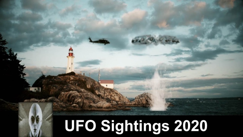 UFO Sightings 2020 Object Speeds Into Water