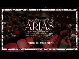 Concert of Arias - 32nd Annual Eleanor McCollum Competition for Young Singers (Houston, )