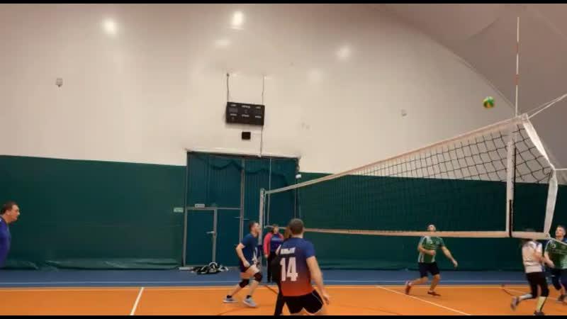 Товарищеский матч по волейболу 12.11.19