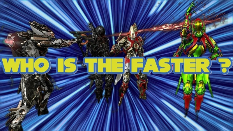 Warframe: Who is the fastest BOI?