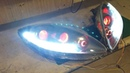 SEAT LEON FAR TASARIMI NASIL YAPILIR HOW TO MAKE SEAT LEON HEADLIGHT DESIGN DRL SEQUENTIAL