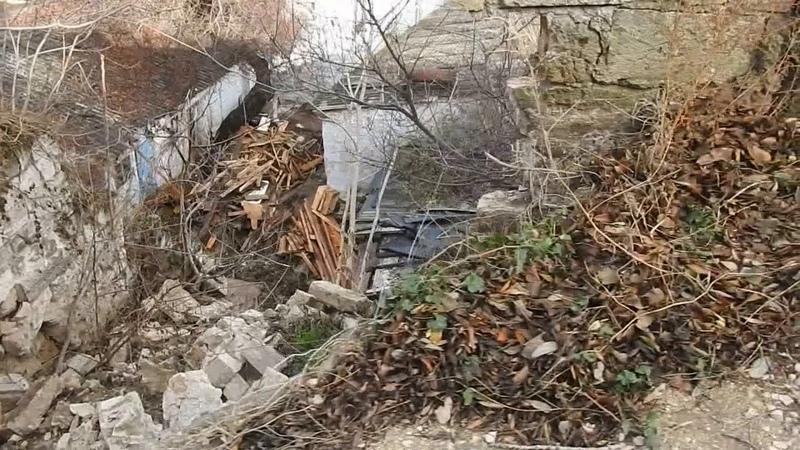 Керчь оползень на горе Митридат.Провал на улице Рыбакова.