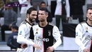 EFootball 2020 - Nice action and goal CRISTIANO RONALDO Juventus F.C.
