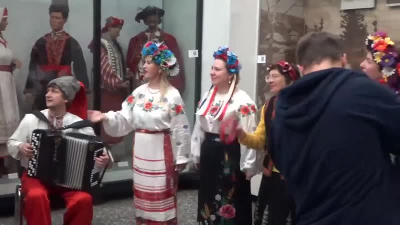 Ансамбль Рось на IV Международном фестивале народной песни Добровидение.