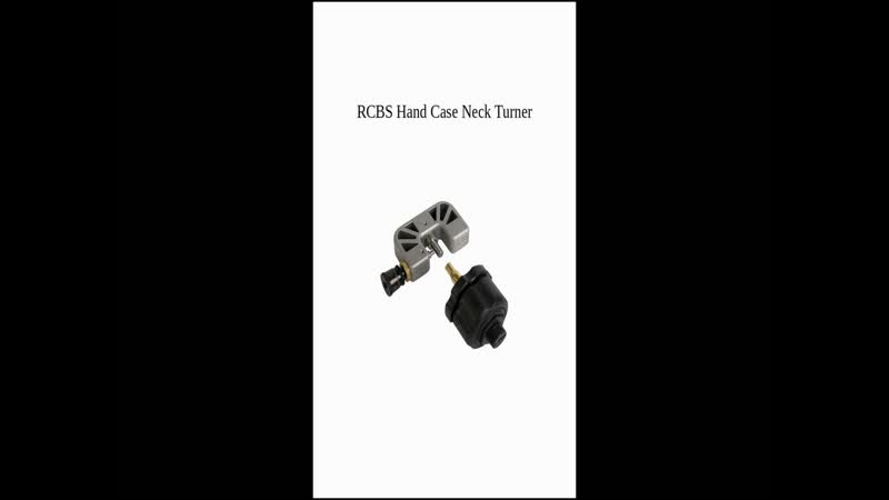 RCBS Hand Case Neck Turner Loutil à tourner les collets (Fr En)