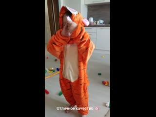 Видео-отзыв пижама кигуруми