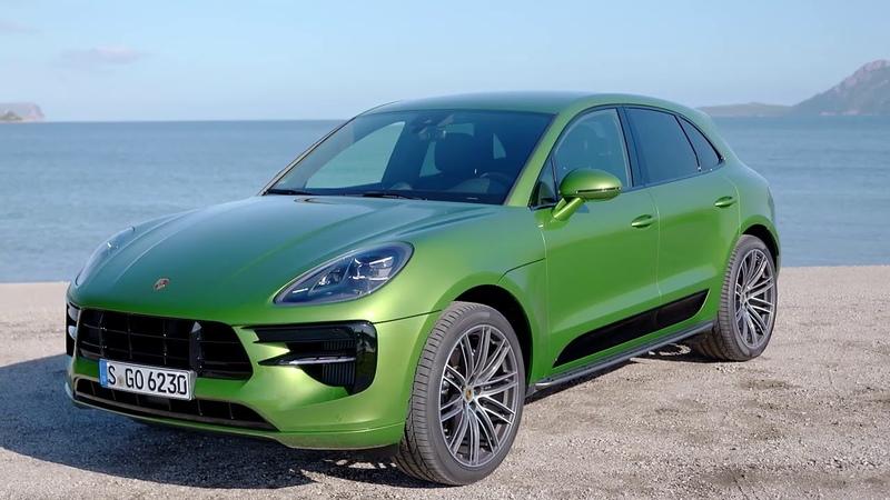 2019 Porsche Macan S Mamba Green Metallic