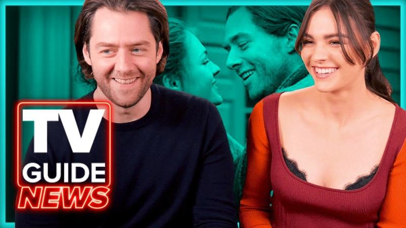 Outlander Cast Talks Filming Bri and Roger's Season 5 Wedding