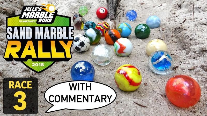 Jelle's Marble Runs Sand Marble Rally 2018 Race 3