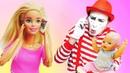 Игры для детей в дочки матери. Мама Кукла Барби учит Папу заботиться о малыше