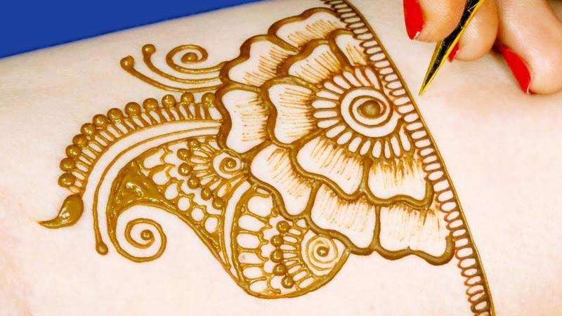 Eid Special Arabic Mehndi Design Easy Eid Mehndi Design for Back Hands by Sonia Goyal 565