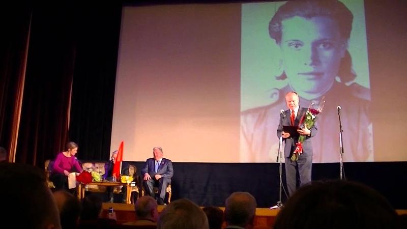Александр Проханов на юбилейном вечере Владимира Бушина
