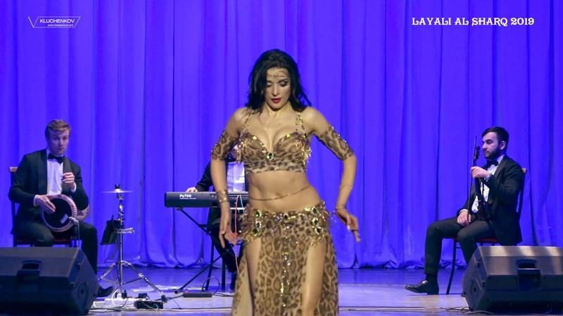 AIDA BOGOMOLOVA ENSEMBLE KHAYAM 2nd part / LAMA RAH EL SABR - TABLA SOLO
