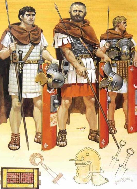 Легионеры Октавиана